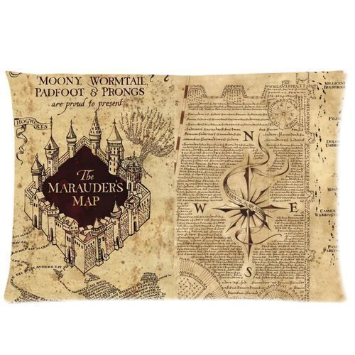 Harry Potter The Marauder S Map Full Queen Comforter