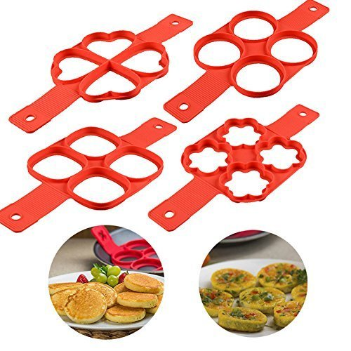 Pancake Mold Ring Makes The Perfect Pancakes Eggs Hash