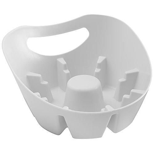 Oxo Good Grips Hideaway Compact Toilet Brush Gray